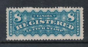 Canada #F3 Very Fine Mint Full Streaky Original Gum Hinged **With Certificate**