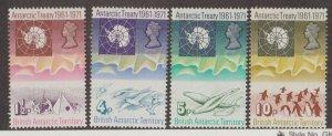 British Antarctic Territory Scott #39-42 Stamps - Mint NH Set