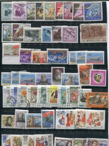 Russia  Collection  Used and Mint  8 stock sheets  - Lakeshore Philatelics