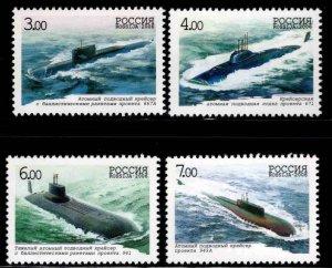 Russia Scott 6946-6349 MNH** Submarine stamp set