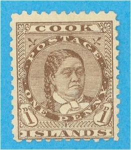 COOK ISLANDS 16  MINT HINGED OG * NO FAULTS  VERY FINE!