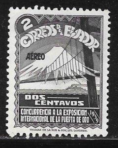 Ecuador C73: 2c 1939 Golden Gate Exposition issue, MH, VF