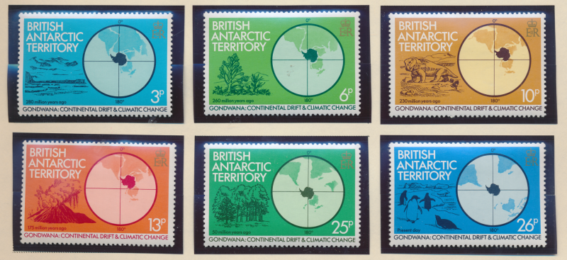 British Antarctic Territory (B.A.T.) Stamps Scott #86 To 91, Mint Lightly Hin...