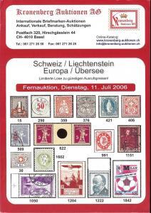 Schweiz / Liechtenstein / Europa / Ubersee, Kronenberg 07...