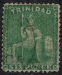 Trinidad #53  CV $6.00  very nice stamp