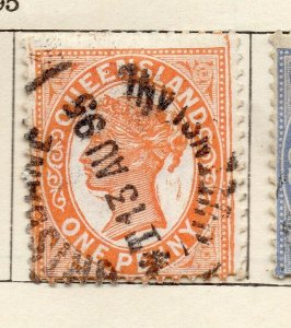 Queensland 1895 Early Issue Fine Used 1d. NW-113699