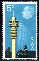 SWA - 1971 Interstex 5c MNH** SG 230