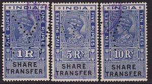 INDIA GVI Share transfer stamps - revenues..................................8608
