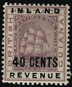 British Guiana #122 SG 183 Mint OG VF ...Fill a Key British Colony spot!