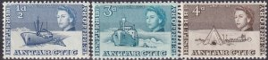 British Antarctic Ty #1, 6-7 MNH V $6.00 (Z5460)
