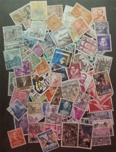SPAIN 85 Different Stamp Lot Used T1007