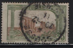 TUNISIA , 43, USED, 1906-26 Ruins of Hadrian's Aqueduct