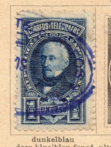 Argentina 1891 Early Issue Fine Used 1P. NW-11789