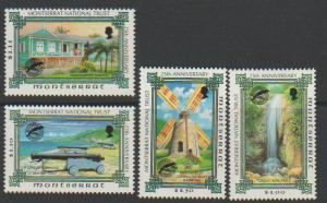 Montserrat SG 980 - 983 set of 4  MLH - National Trust