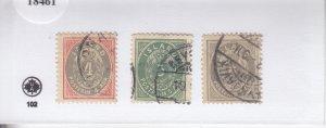 Iceland: Sc #23-25, Used (S18461)