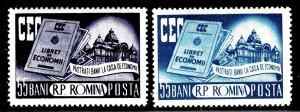 Romania 1078-1079 - MH