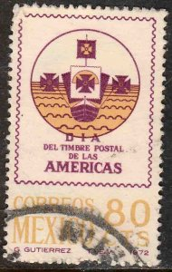 MEXICO 1046, Stamp Day of the Americas USED. F-VF. (1292)