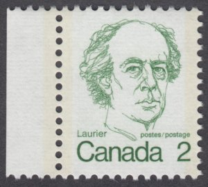 Canada - #587 Sir Wilfred Laurier  - MNH