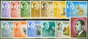 Lesotho 1968-69 Set of 13 SG147-159 Fine MNH