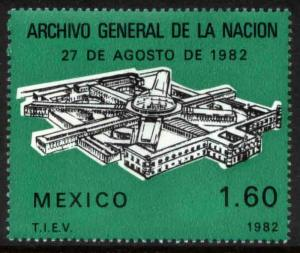 MEXICO 1298, Opening of the National Archives Building. MINT, NH. VF.