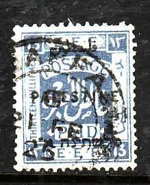Palestine-Sc#57- id5-used 13m ultra-1922-