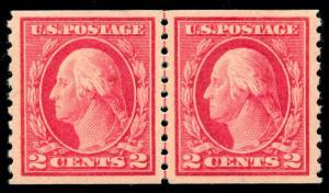 momen: US Stamps #444 Mint OG LP PSE Graded XF-SUP 95
