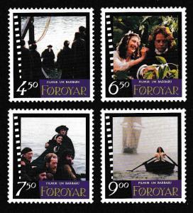 Faroe Is. 'Barbara' Film 4v SG#332-335 SC#324-327