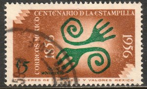 MEXICO 891, 5c Centenary of 1st postage stamps USED. F-VF. (696)
