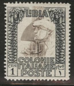 LIBYA Scott 47 MH* 1924-40 unwatermarked stamp
