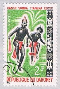 Dahomey 185 Used Somba Dance 1964 (BP39207)