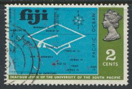 Fiji SG 414 SC# 288 Used  University   see scan