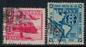Spain #C125,131  CV $3.75