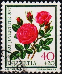 Switzerland. 1977 40c+20c. S.G.J259  Fine Used
