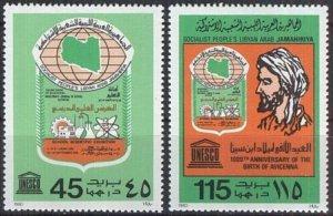 Libya 1980 Scott 871-872 Anniversaries MNH