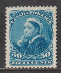 Canada #47 XF Mint With Redistributed Gum To Look NH **With Certificate**