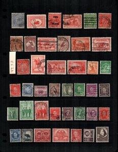 Australia  41 different used cat $48.00