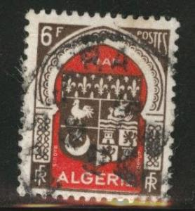 ALGERIA Scott 222 used from 1947 - 1949 stamp set