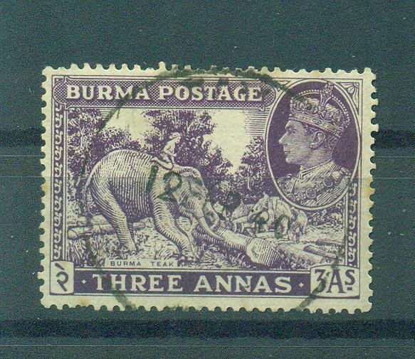 Burma sc# 26 used cat value $3.75