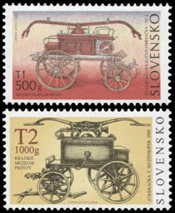 Slovakia. 2008. Fire-fighting Device (MNH OG) Set of 2 stamps