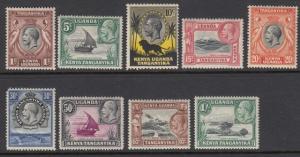 Kenya Uganda Tanganyika 46-54 mint