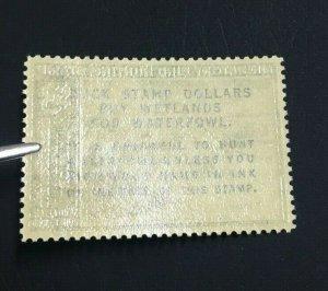 MOMEN: US STAMPS #RW34 MINT OG NH LOT #70898