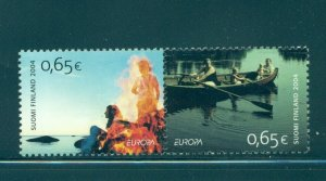 Finland - Sc# 1217. 2004 EUROPA CEPT. MNH Pair. $4.00.