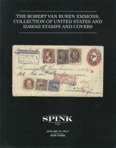 The Robert Van Buren Emmons Collection of US & Hawaii Stamps & Covers. Spink USA