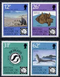 British Antarctic Territory 1991 Antarctic Treaty Anniver...