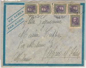 53465  - ERITREA  - Storia Postale: BUSTA con annullo POSTA MILITARE Asmara 1936