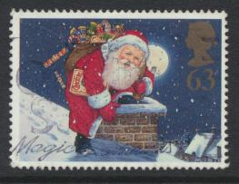 Great Britain SG 2010 Used    Christmas 1997  SC# 1780