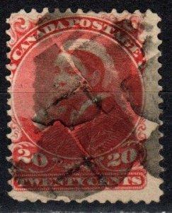 Canada #46 F-VF Used CV $125.00 (X5689)