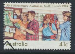 Australia SG 1219 Used Youth Hostels %0th Anniversary