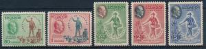 [61622] Ecuador 1948 F.D. Roosevelt Freedom Airmail Set MNH