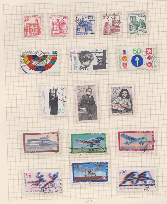Germany - 1979-1990 Collection in Album mint/used